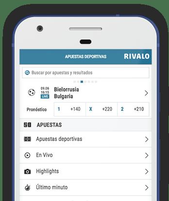Captura de pantalla de Rivalo