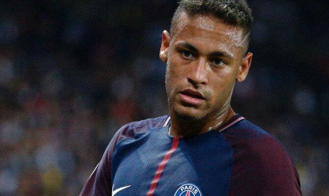 Neymar con la camiseta del PSG, será determinante en las cuotas del PSG vs Bayern Munich.