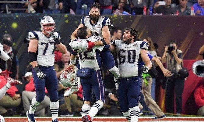 Apuesta en el Superbowl con las cuotas del New England Patriots vs Philadelphia Eagles.