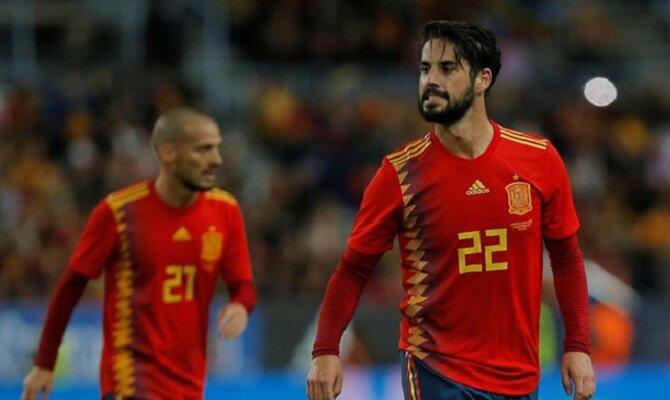 Isco lamenta una ocasión fallada con España. Conoce las cuotas del España vs Rusia.