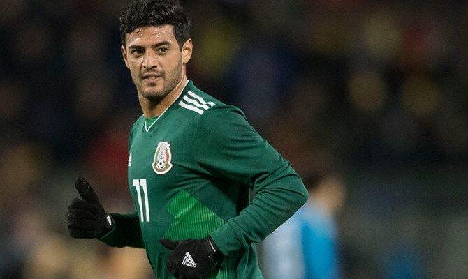 Carlos Vela con la camiseta del Tri. Conoce las cuotas del México vs Suecia.