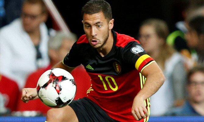 Eden Hazard será determinante en las cuotas del Bélgica vs Egipto