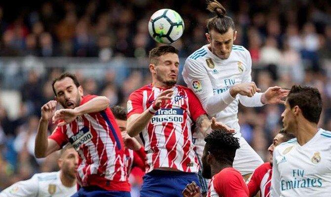 Partido entre Real Madrid y Atlético de Madrid