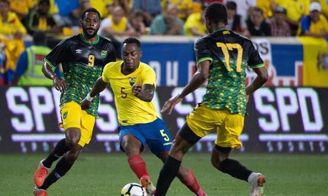 Ecuador contra Jamaica