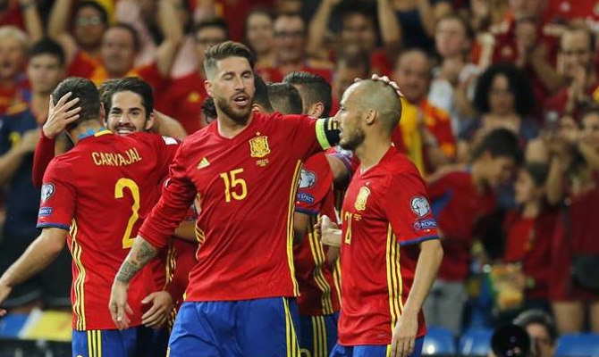 Jugadores de España