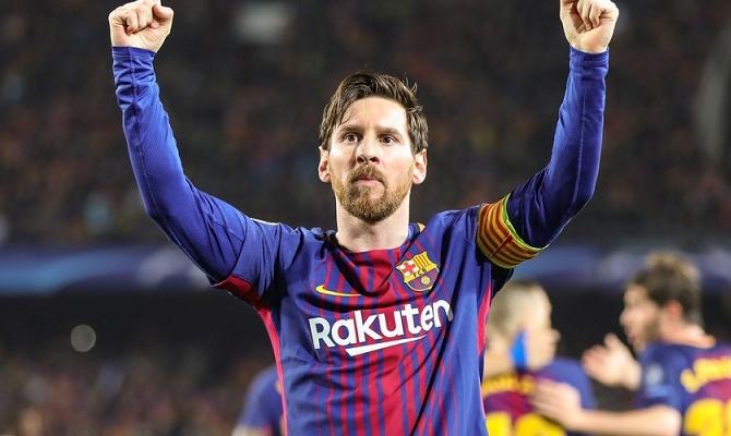 Leo Messi jugador del FC Barcelona