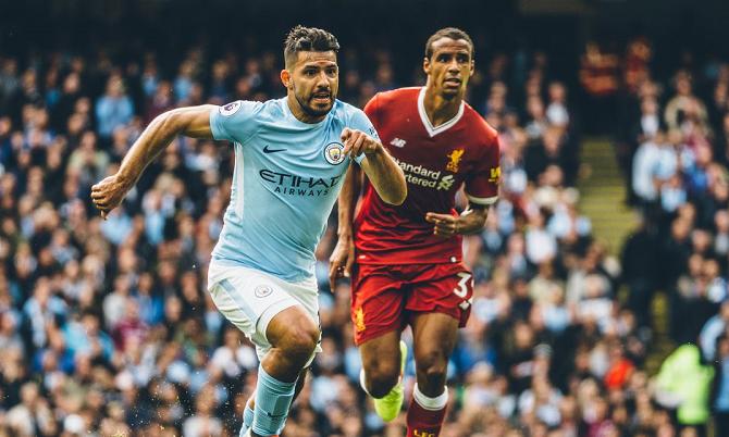 Partido entre Liverpool y Manchester City
