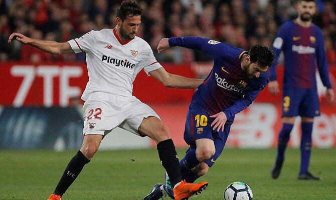 Partido FC Barcelona y Sevilla FC