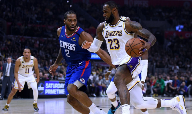 Los Angeles Lakers vs LA Clippers