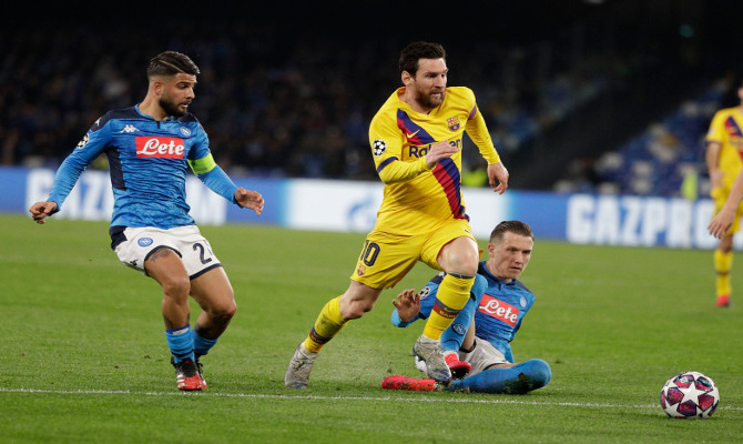 Picks para tus apuestas en el Barcelona vs Napoli