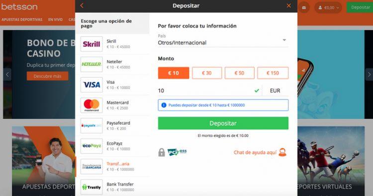 Depósito Transferencia Bancaria