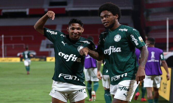 Los jugadores del Verdao están listos para el Palmeiras vs Santos