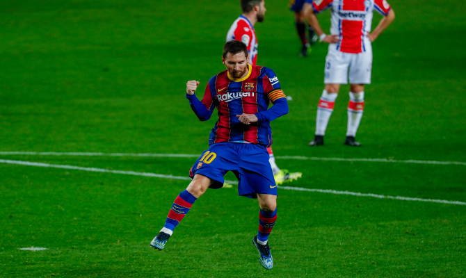 Messi llega en plena forma al Barcelona vs PSG de Champions League. ¡Apuesta ahora!