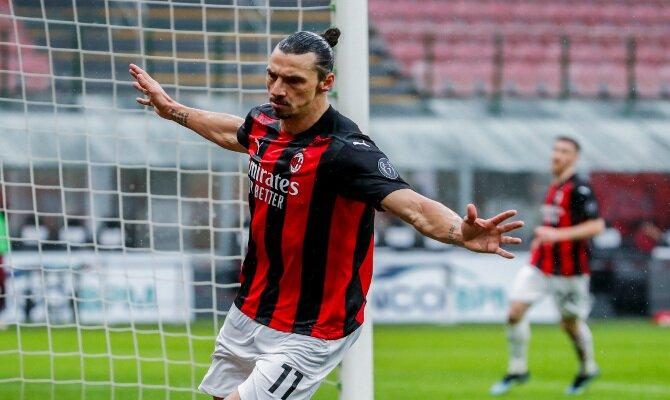 Ibrahimovic busca volver a celebrar goles en el Derbi de Milán vs Inter, con el liderato en juego
