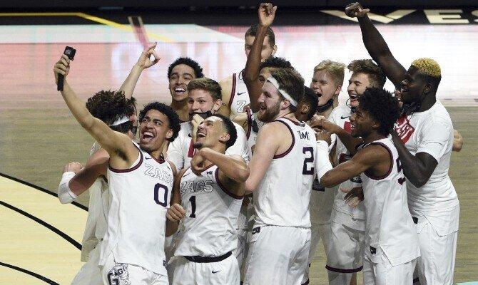 Gonzaga es el favorito para ganar el Torneo Nacional de la NCAA 2021