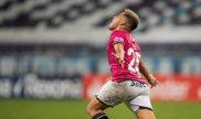 Imagen de Cristrian Ortiz festejando un gol. Picks y cuotas del Palmeiras vs Independiente Valle.