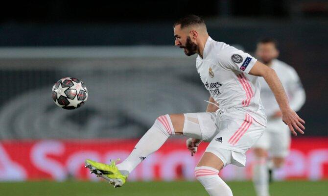 Karim Benzema debe ser clave en los pronósticos del Real Madrid vs Liverpool de cuartos de la UCL
